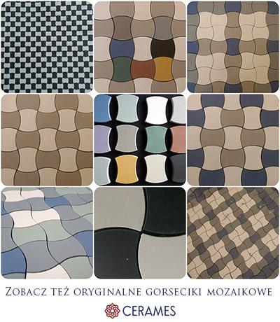 Oryginalne gorseciki mozaikowe