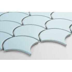 Flabellum Light Blue, mat - płytki ceramiczne