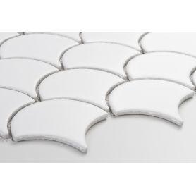 Flabellum White, mat - płytki ceramiczne