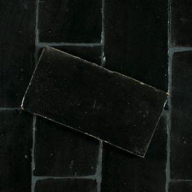 Czarna - płytka podłogowa