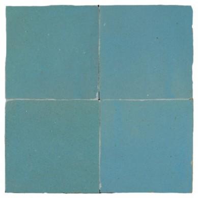 Niebieska - płytka ścienna