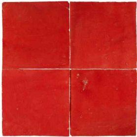 Czerwona - płytka ścienna