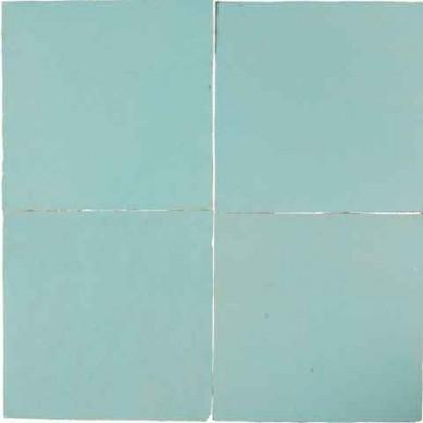 Niebieska matowa- płytka ścienna