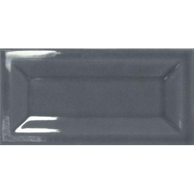 Aranżacja łazienki z płytkami Dark Grey 7.5x15 cm
