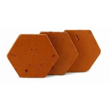 Rustykalna terakota sześciokątna na podłogę