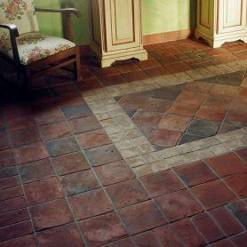Ręcznie formowane gotyckie płytki podłogowe 20x20 cm