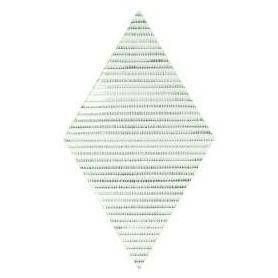 Equipe Rhombus Wall Bambu B&W 15.2x26.3 cm