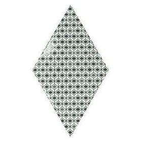 Equipe Rhombus Pattern B&W 15.2x26.3 cm