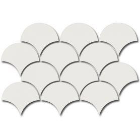 Equipe Scale Fan Mosaic White