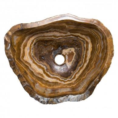 Freja - umywalka z onyksu