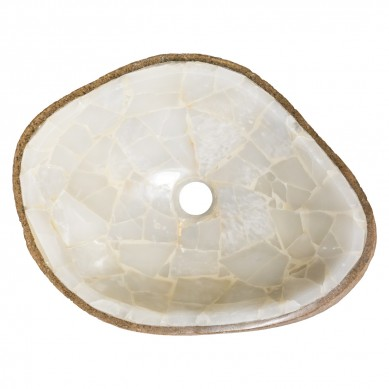 Skuld - umywalka z onyksu
