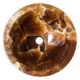 Witkoria - nablatowa onyksowa umywalka