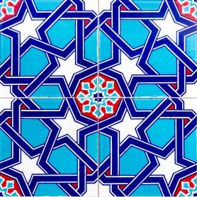 Mazhar - ceramiczne płytki z Turcji 20x20cm, opakowanie 12 sztuk (0,48m2)