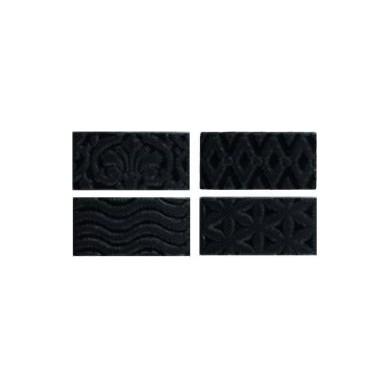 Equipe Masia Jewel Negro Mate 7,5x15 cm
