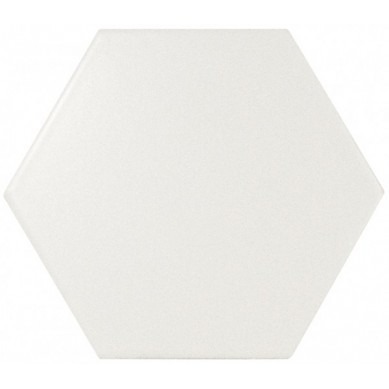 Equipe Scale Hexagon White Matt