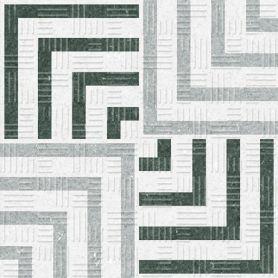 Equipe Area Concentric Grey 15x15 cm
