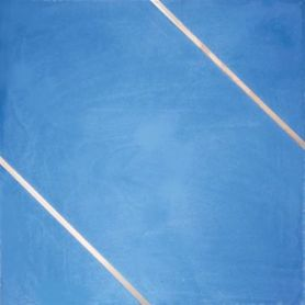 Xyria - Niebieska płytka cementowa z mosiądzem