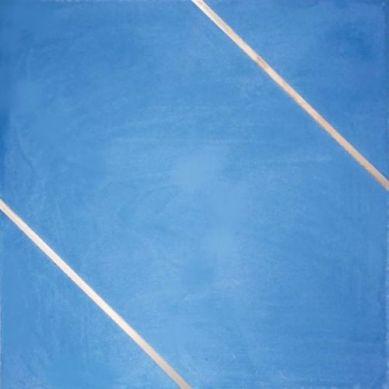 Xyria - Niebieska płytka cementowa z dwoma mosiężnymi wałkami