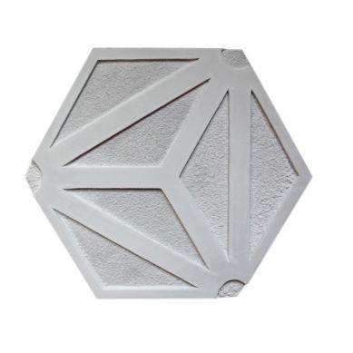 Xenia - heksagonalna płytka cementowe z wzorem 3D