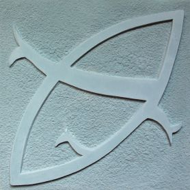 Lara - Płytki cementowe z wzorem 3D w kolorze błękitnoszarym