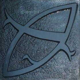 Klara - Płytki cementowe z wzorem 3D w kolorze czarnym