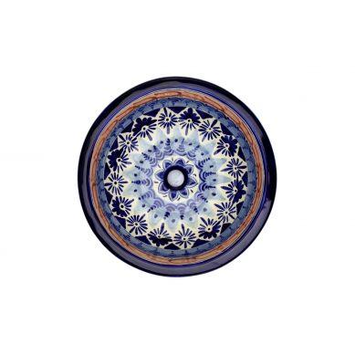Letitia - Oryginalna umywalka okrągła