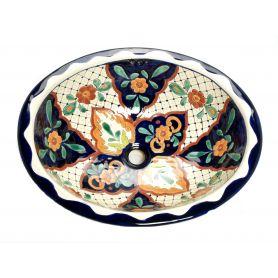 Danita - meksykańska umywalka wpuszczana