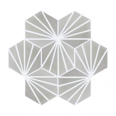 Laik - Heksagonalne płytki cementowe