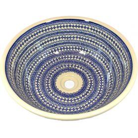 Mirka - Ręcznie malowana umywalka