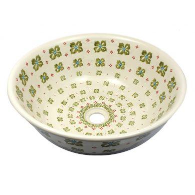 Monika - umywalka ceramiczna Bolesławiec