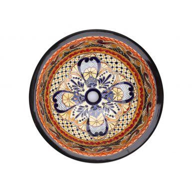 Ynes - Kolorowa umywalka okragła