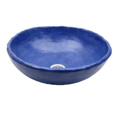 Matylda - kobaltowa umywalka matowa