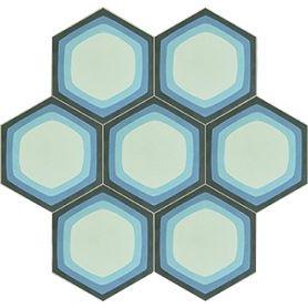 Mirdor - Heksagonalne kafle cementowe