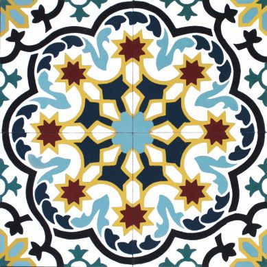 Michaelmas - płytki marokańskie