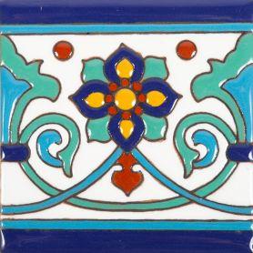 Muse - płytki meksykańskie z reliefem - 30 sztuk