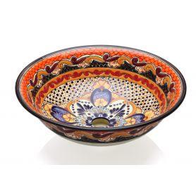 Ynes - meksykańska umywalka ceramiczna