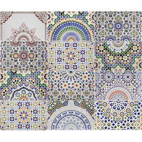 Patchwork - ceramiczne płytki marokańskie