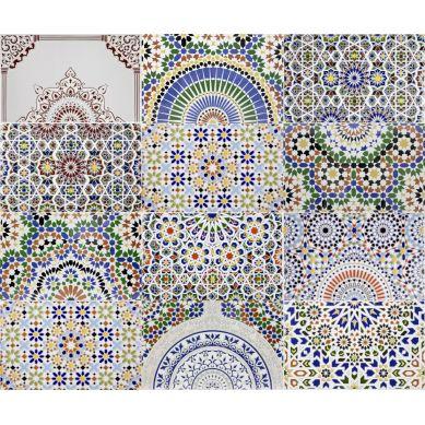 Patchowrk - ceramiczne płytki marokańskie