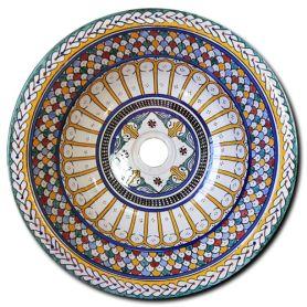 Carmona - Umywalka nablatowa z Maroka