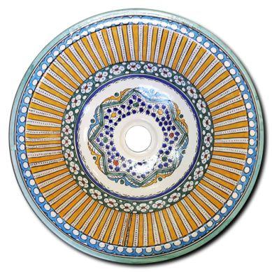 Estepa - kolorowa umywalka z Maroka