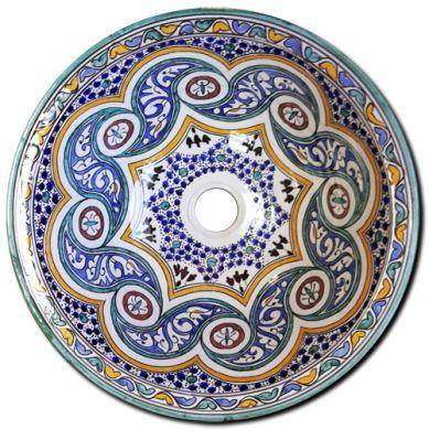 Osuna - marokańska umywalka ceramiczna