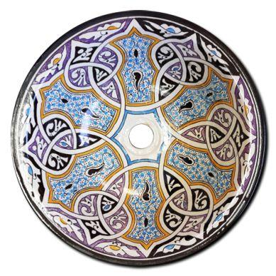 Salteras - nablatowa umywalka ceramiczna z Maroka