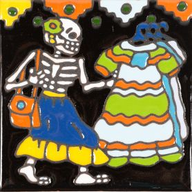 Cliente - Seria Catrina – meksykańska płytka ceramiczna