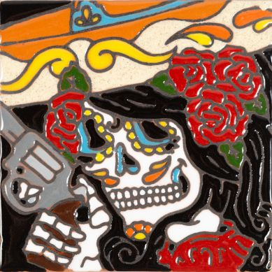 Catrina 30 - Meksykańska płytka ceramiczna