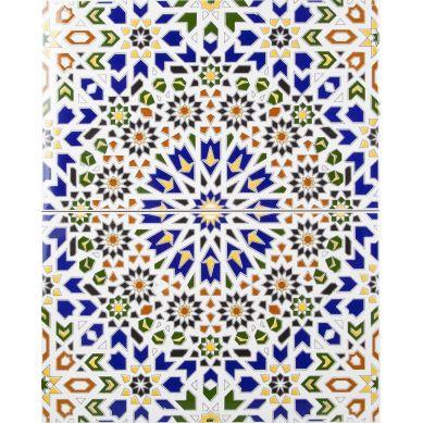 Wadih - ceramiczne płytki z Maroka
