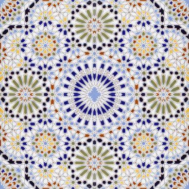 Zaha - ceramiczne płytki z Maroka