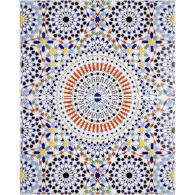 Nour - ścienne płytki ceramiczne z Maroka