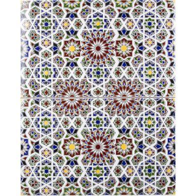 Marwa - ścienne płytki z Maroka