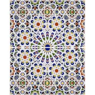 Mattullah - ceramiczne płytki z Maroka