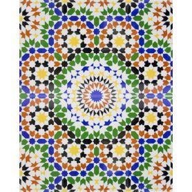 Bilal - ceramiczne płytki z Maroka